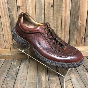 Born active oxford 2-tone Brown leather 8/41